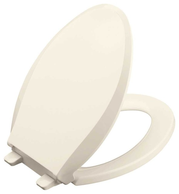 Kohler Cachet Quiet-Close, Elongated Toilet Seat, Biscuit