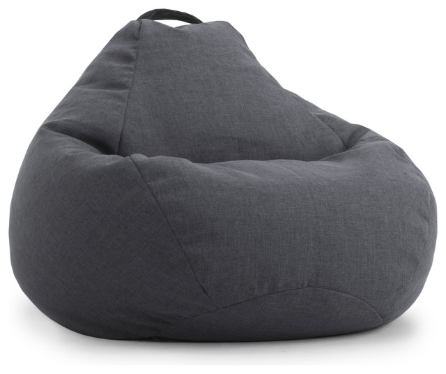 BIG JOE LUX 132 TEARDROP BEAN BAG CHAIR Mag  Hitchcock Contemporary Bean Bag Chairs on blue bean bag chair