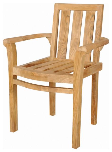 Anderson Teak Anderson Teak Patio Lawn Garden Furniture Classic Stackable Armchair Reviews