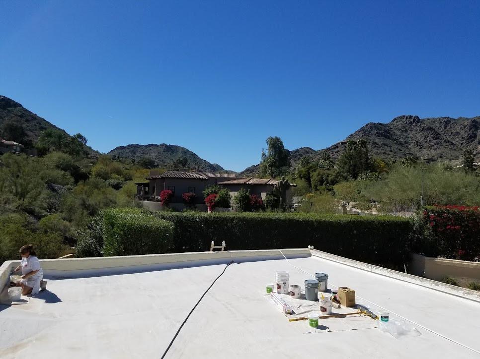 Clear Water Hills Peripet walls repair
