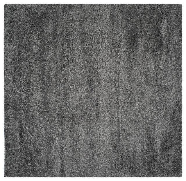 Safavieh California Shag, Dark Gray, 8&x27;6 X 8&x27;6, Square.
