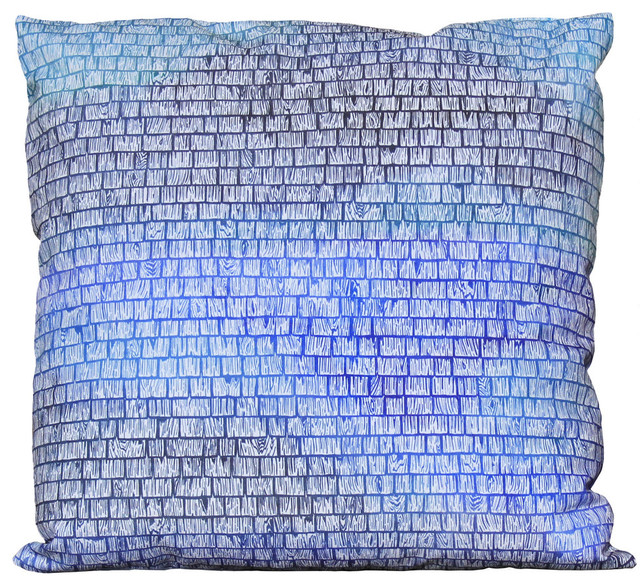 Bicoastal Beach Cottage Shingles Throw Pillow 40x40 Down Large Awesome Cottage Style Decorative Pillows
