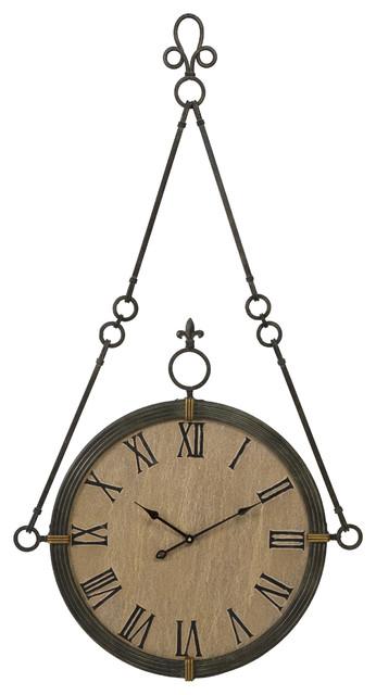 Cki Alexander Wall Clock Mediterranean Wall Clocks