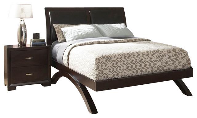 Homelegance Astrid 6 Piece Platform Bedroom Set In Espresso Traditional Furniture Sets By Beyond S