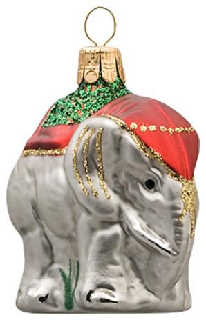Royal Elephant Ornament