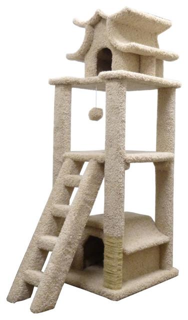New Cat Condos Premier Designer Cat Pagoda Contemporary Cat Furniture