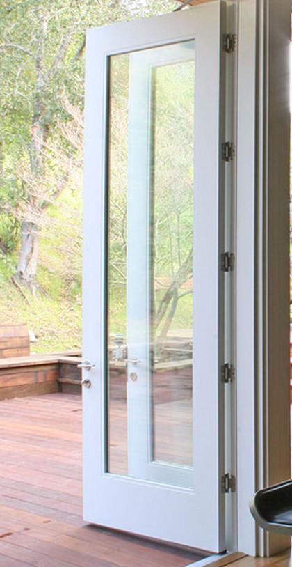 Cutting plastic grid off of balcony door door lite insert for 15 lite door insert