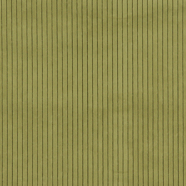 Green Striped Microfiber Upholstery Fabric By The Yard