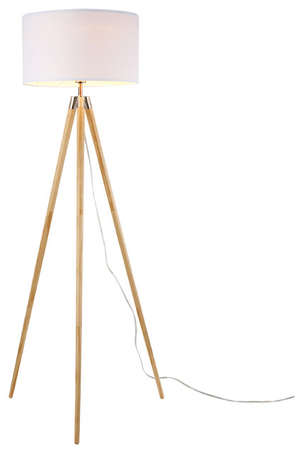 Celeste Natural Tripod Floor Lamp.