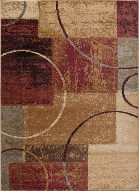 "Elegance Contemporary Multi High Quality Rug, 9&x27;3""x12&x27;6""."