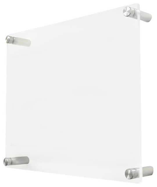 Acrylic Wall Frames 1210dr double panel acrylic wall frame for 5x7 photos
