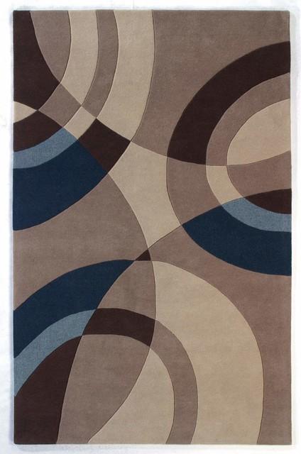 Nolita 1307 110 Beige Modern Rug Contemporary Area Rugs By