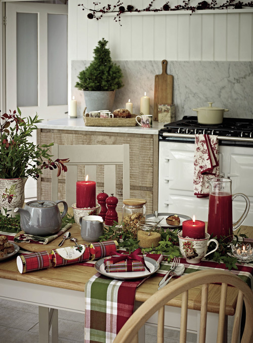 Photo by Marks u0026 Spencer & Christmas Table Setting Ideas - Town u0026 Country Living