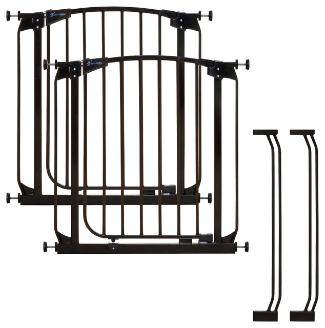Dreambaby Chelsea Safety Gate And Extension Set 2 Gates
