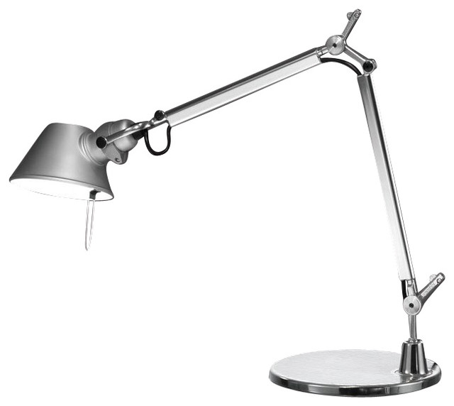 Exceptionnel Artemide Tolomeo Micro LED Table Lamp, Aluminum