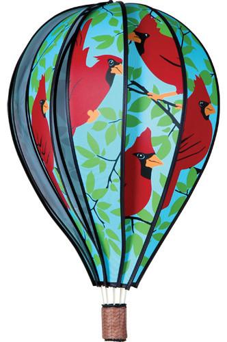 Premier Designs Hot Air Balloon Cardinal Spinner PD25773