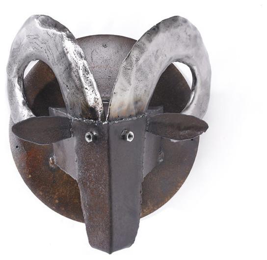 rams head sculpture