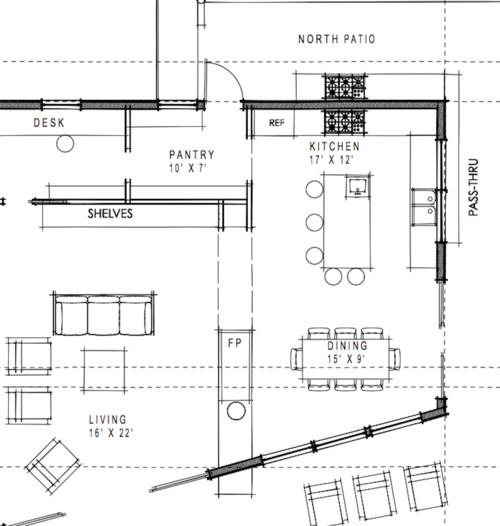 Kitchen Layout, New Build