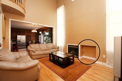 Fireplace Ideas Empty Space Left By Builder & Empty Fireplace Empty fireplace ideas u2026 For the Home ...