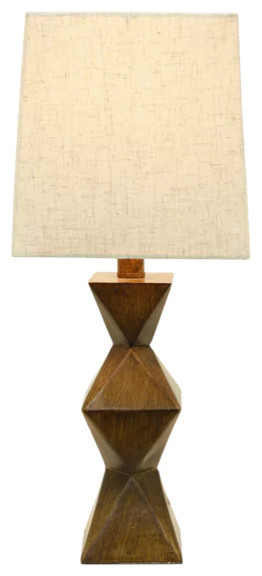 Knox Stacked Diamond Lamp.