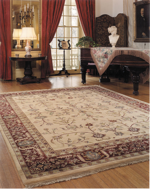 How to clean large rugs at home