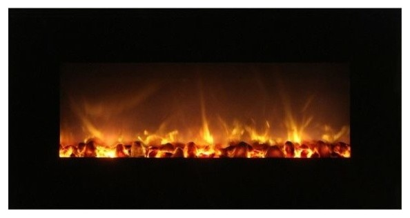 "Fantastic Flame No Heat Electric Fireplace, 43""."