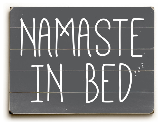 Namaste In Bed Solid\