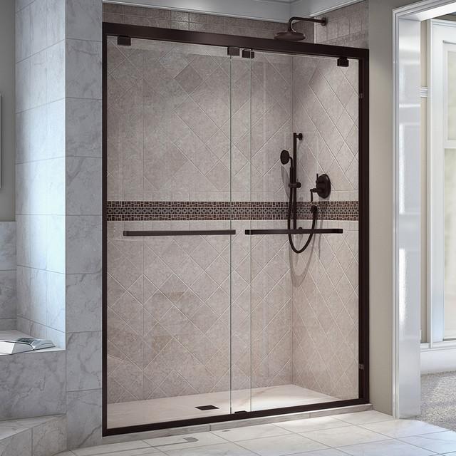 Encore 44 48 Quot X76 Quot Bypass Sliding Shower Door Chrome