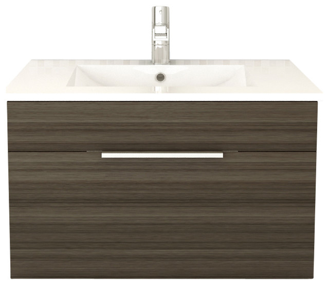 Textures Spring Blossom Floating Bathroom Vanity