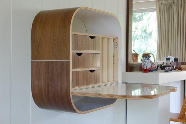 Wall Desk Contemporary Desks And Hutches By Vurv