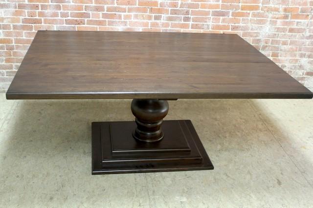 6ft Square Reclaimed Farm Table