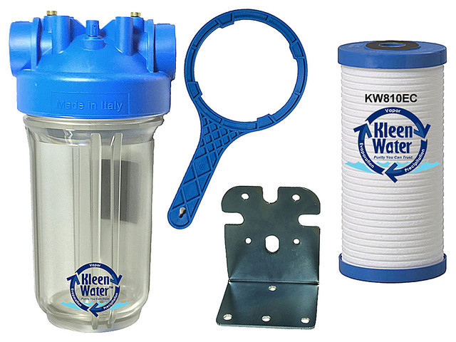 Kleenwater Kw4510-Ds-1-Premier Whole House Sediment Water Filter System.
