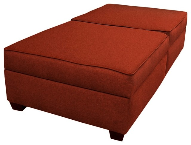Duobed Convertible Ottoman Contemporary Footstools And Ottomans By Duobed Multifunctional