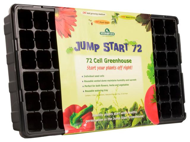 Hydrofarm 72 Cell Jumpstart Greenhouse.