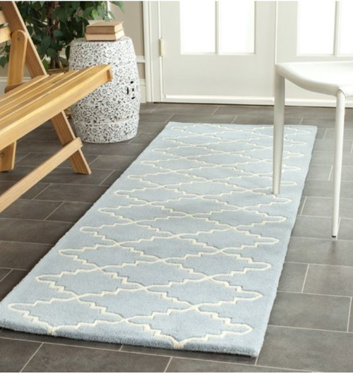 Foyer Rug Quarter : Help foyer rug and runner mix match