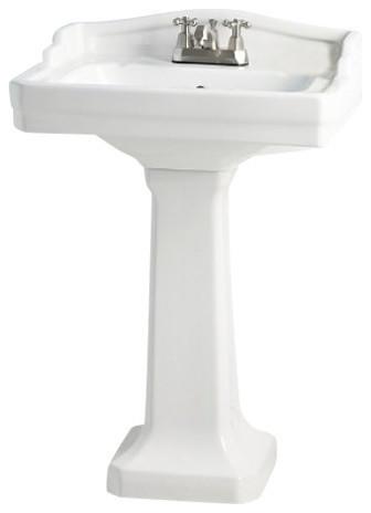 Bathroom Sinks Essex essex pedestal sink - traditional - bathroom sinks -cheviot