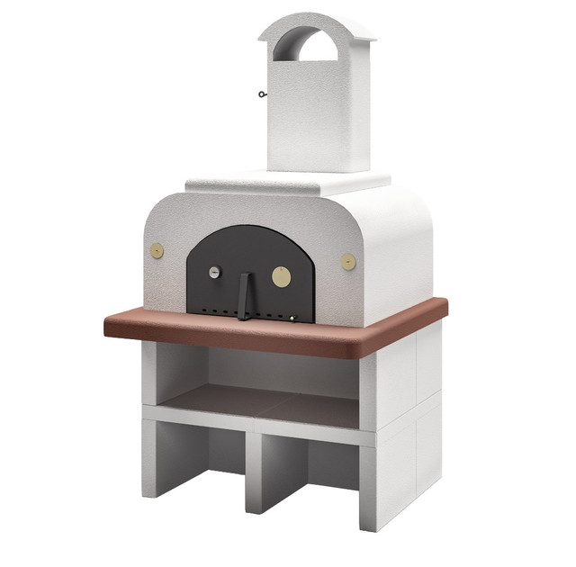 Latoscana Palazzetti Forno Wood Fired Oven Easy Medium Completo ...