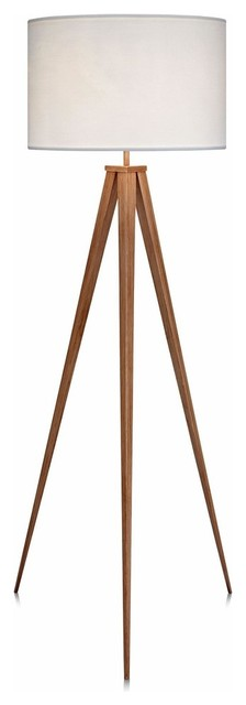 Romanza Tripod Floor Lamp, White