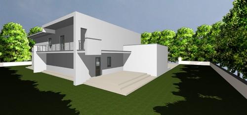 Dillema colari esterno casa moderna for Casa moderna esterno