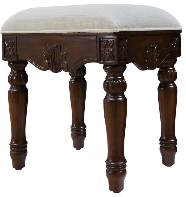 Elegant lighting windsor vanity chair reviews houzz - Elegant vanity stools ...