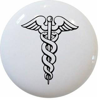 Carolina hardware and decor llc caduceus medical symbol for Houzz icon vector
