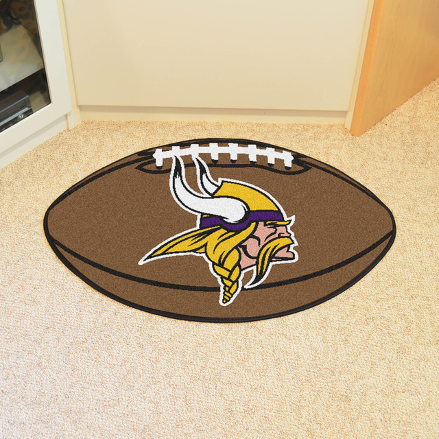 e324102d75b NFL Minnesota Vikings Football Rug 20.5