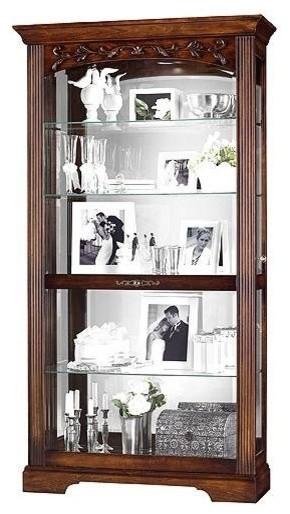 Howard Miller Hartland Curio Cabinet - Traditional - China ...