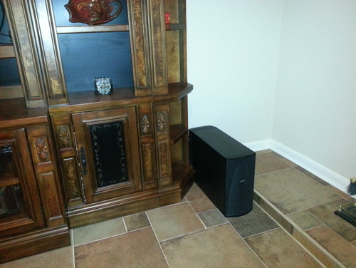 How Can I Hide This Bose Speaker Box