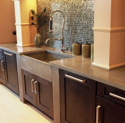 Cement Kitchen Counters on Concrete Countertops     Kitchen Countertops   Atlanta   By J  Aaron