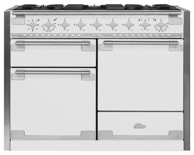 48 Quot Aga Elise Multiple Oven Dual Fuel Range White
