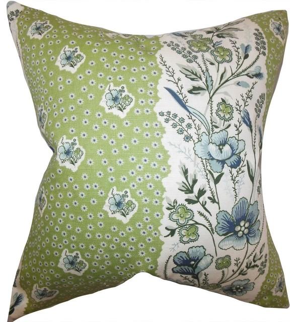 Burgundy Carpet Bedroom Small Bedroom Cupboards Designs Bedroom Chandeliers Next Cream Bedroom Chairs: Elske Floral Pillow Cactus Green
