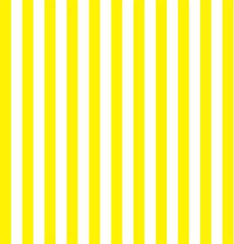 Vibrant Yellow Stripe Fabric Drawer Liner.