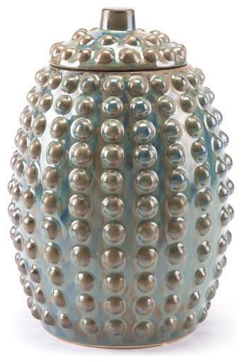 Pinecone Jar, Large, Rust