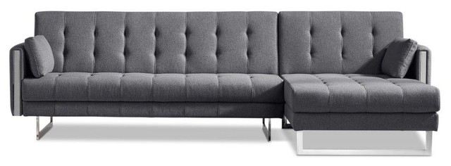 Andrea Sectional Gray